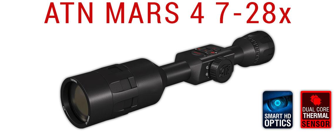Тепловизионный прицел ATN MARS 4 7-28x